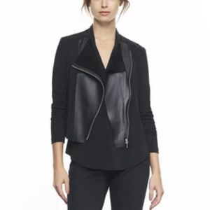 Iris Setlakwe Leather Front Lightweight Jacket